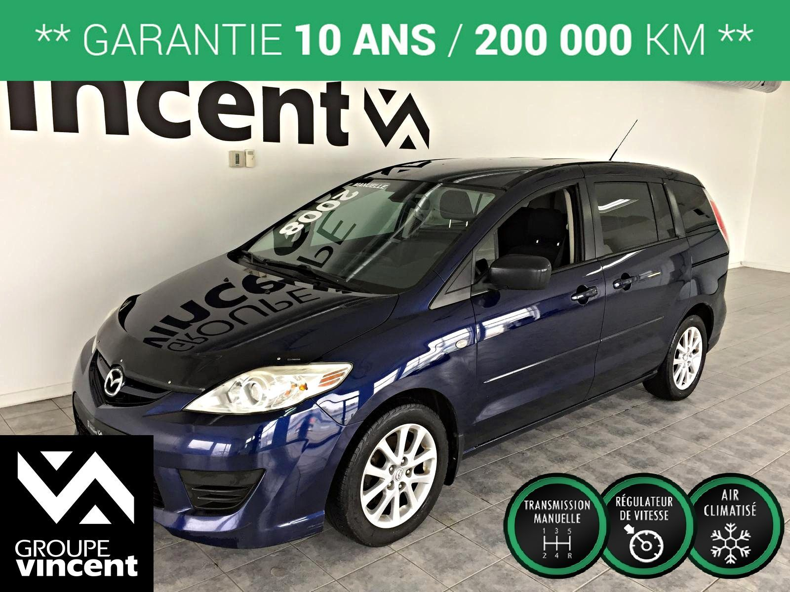 mazda mazda5 gs climatiseur automatique 2008 d 39 occasion trois rivi res hyundai trois. Black Bedroom Furniture Sets. Home Design Ideas