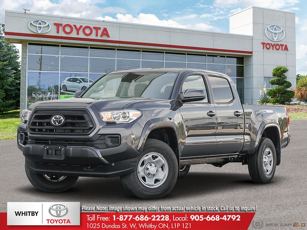 New 2020 Tacoma 4x4 Double Cab 6a Fc14 For Sale 42 900 Whitby Toyota Company