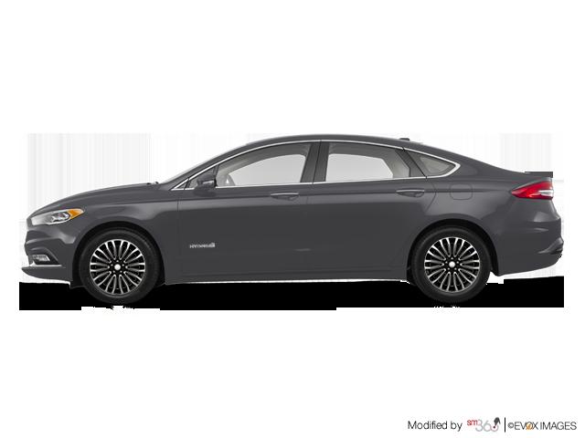 Ford Fusion Hybrid Rental Car