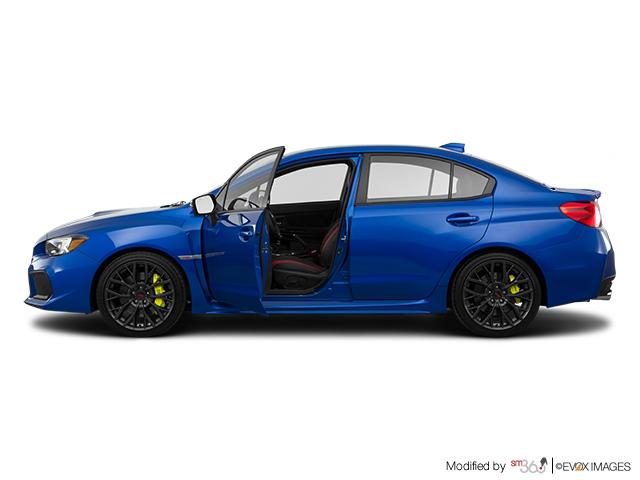 Subaru WRX STI STI Sport-tech avec déflecteur de coffre 2019