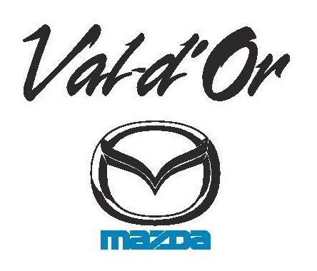 Logo Val-d'Or Mazda