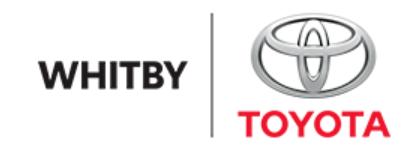 Logo Whitby Toyota Company
