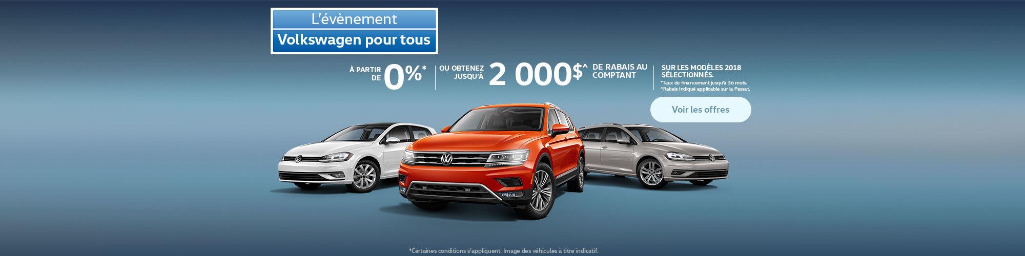 Volkswagen pour tous