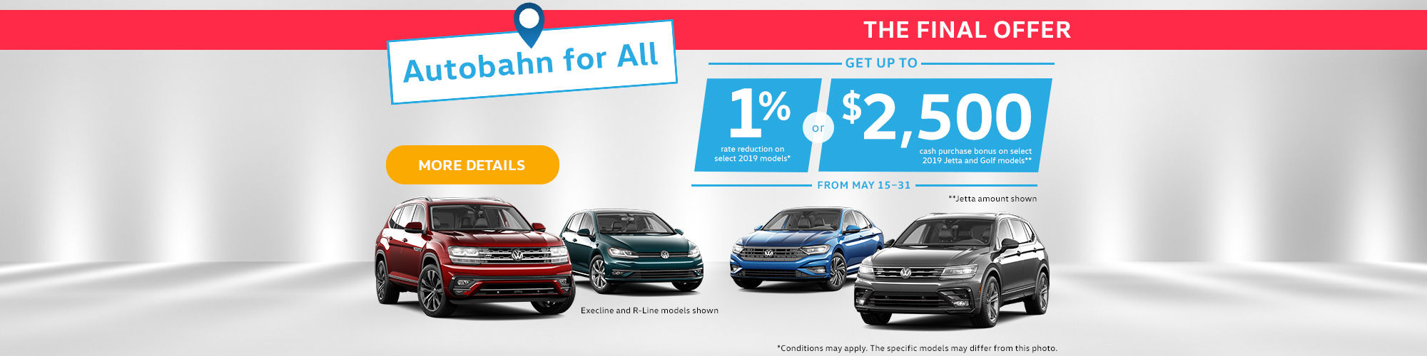 Volkswagen Final Offer