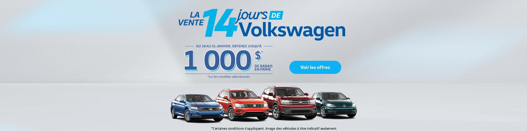 Événement Volkswagen Salon de l'auto