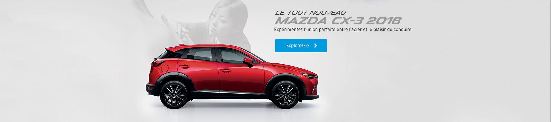 Mazda CX3 - FR