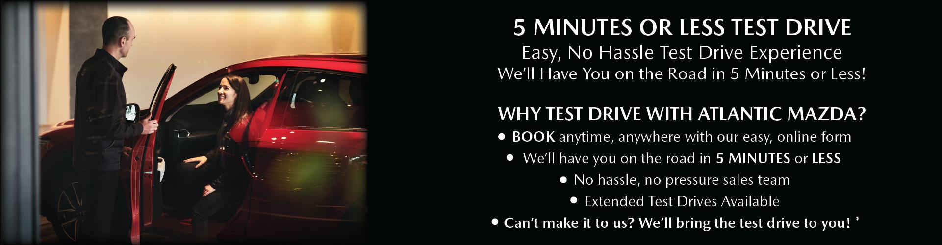 5 Minute Test Drive