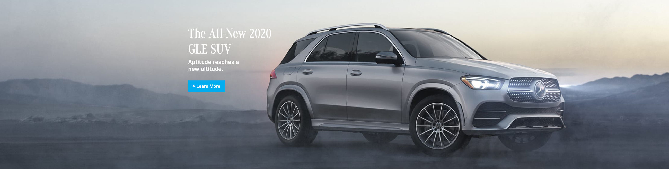 The All-New 2020 GLE SUV