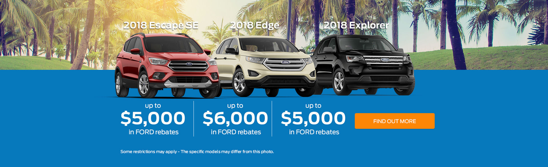 Up to $6,000 in Ford Rebates in June!