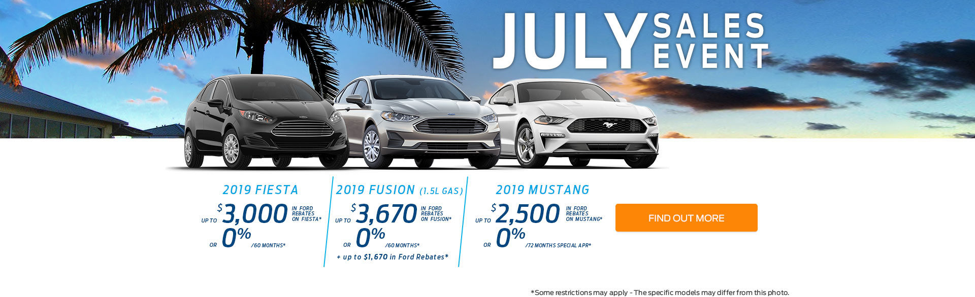 Get a new 2019 Ford today!