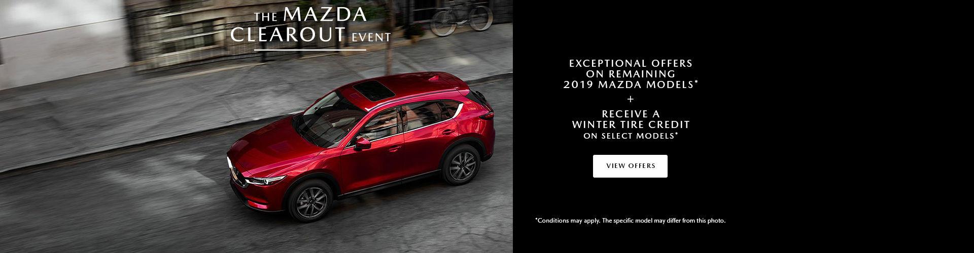 Clearout Mazda Event
