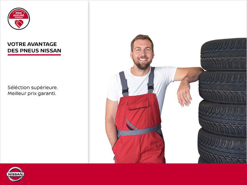 Votre avantage de pneus Nissan