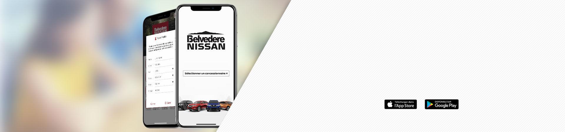 Découvrez notre<br>application mobile