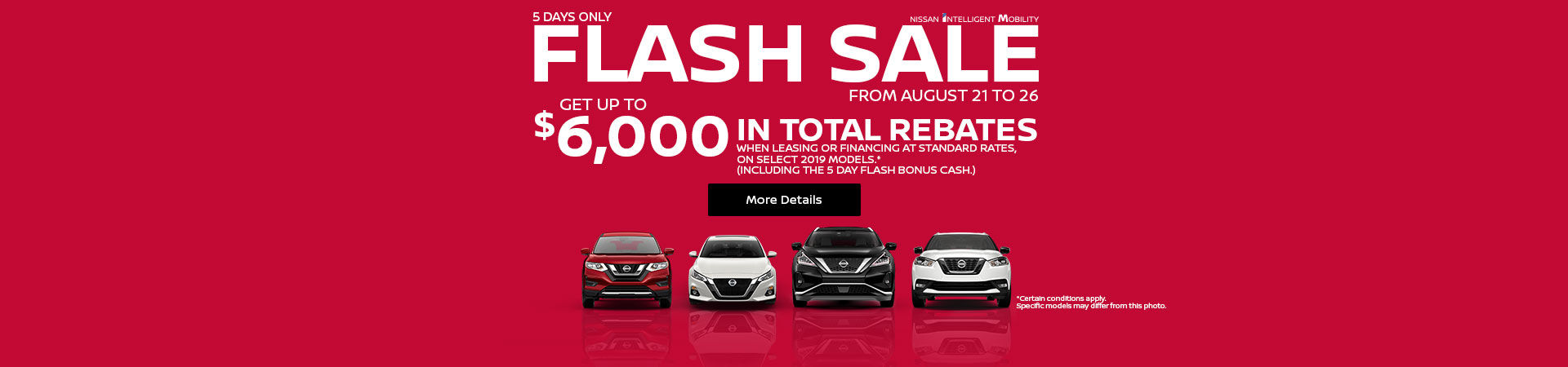 Nissan Flash Sale