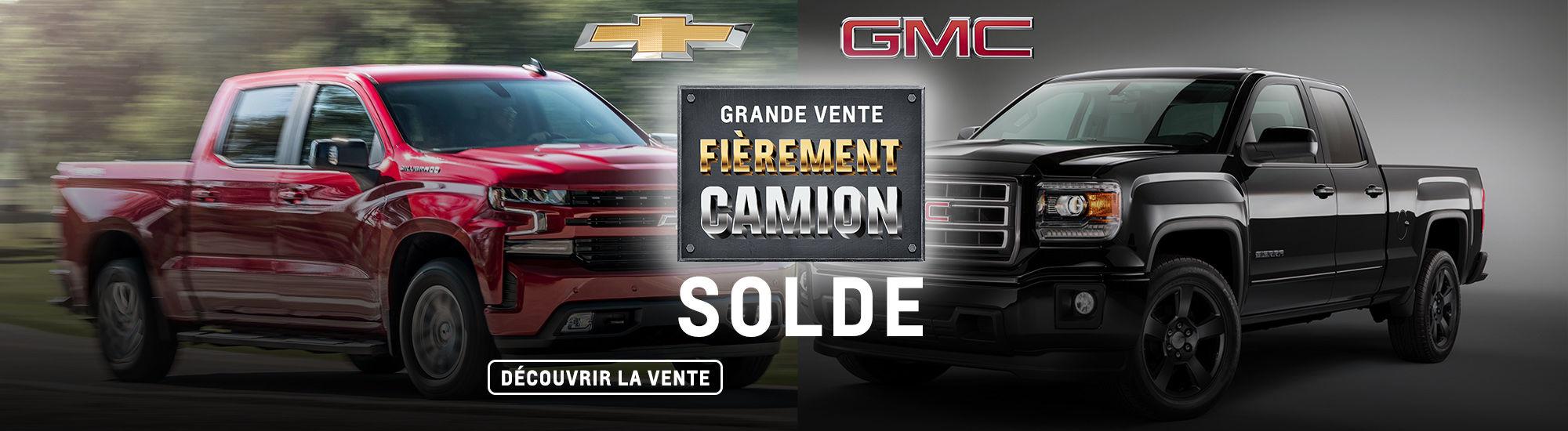 Grande vente Fièrement camion
