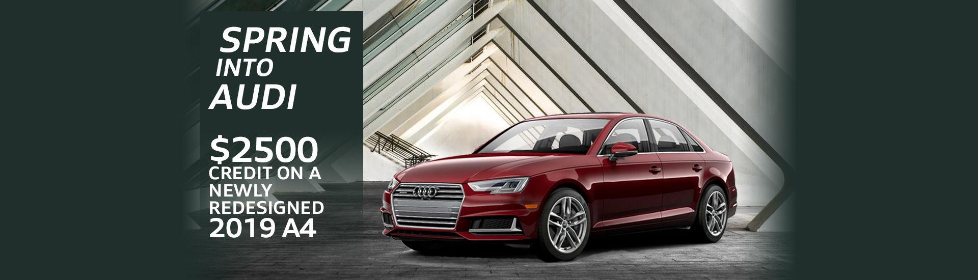 Spring into Audi (Desktop)