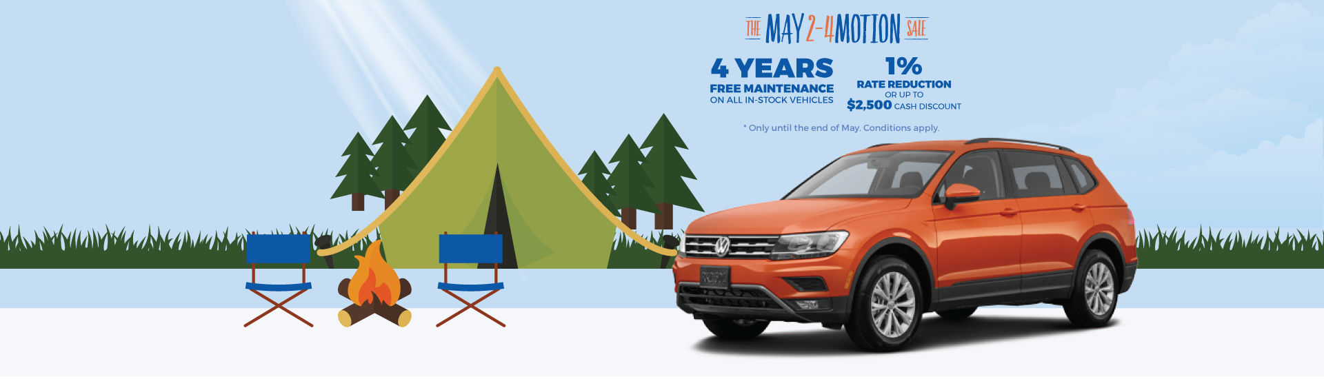 May 2-4 Motion Sale