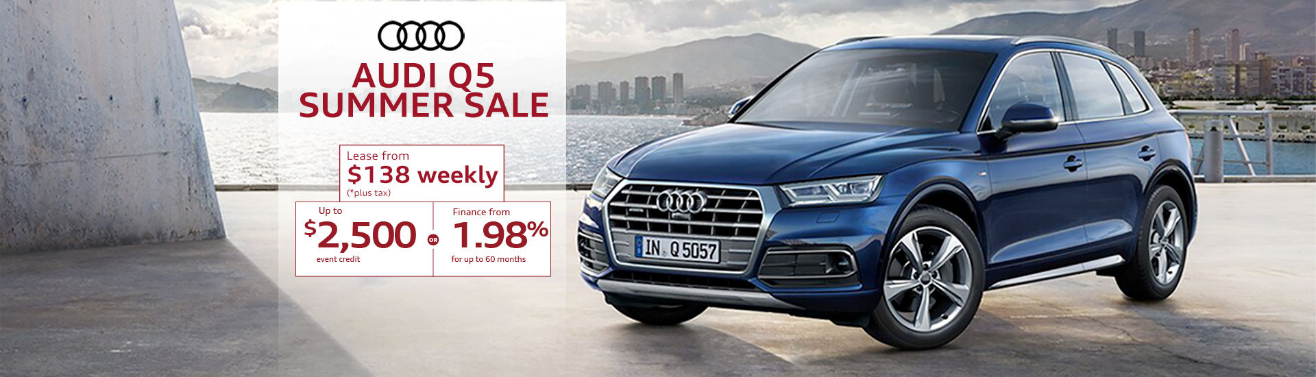 Audi Q5 Summer Sale