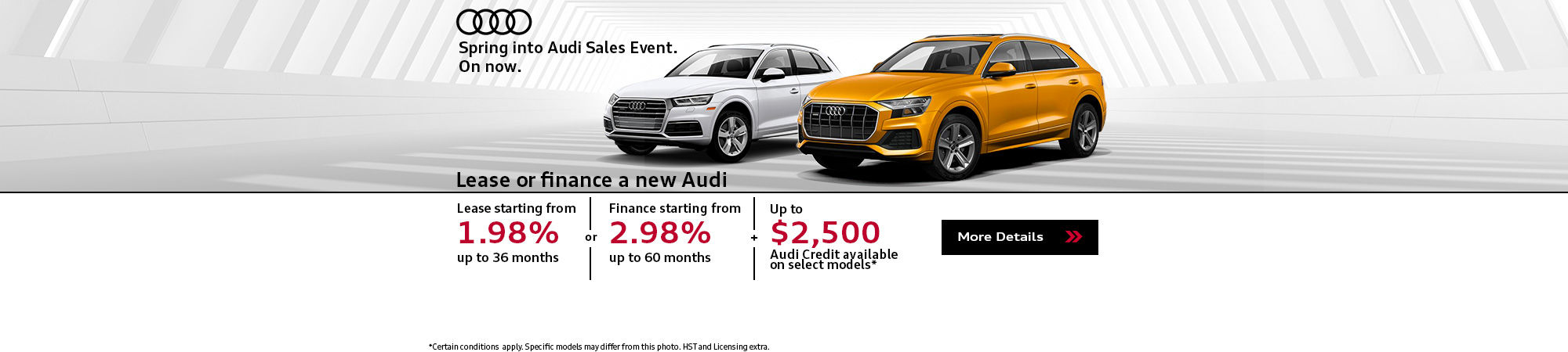 Audi Monthly Event
