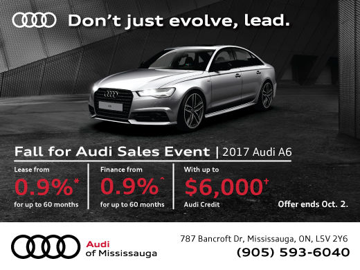 Fall For Audi Sales Event 2017 Audi A6 Audi Of Mississauga