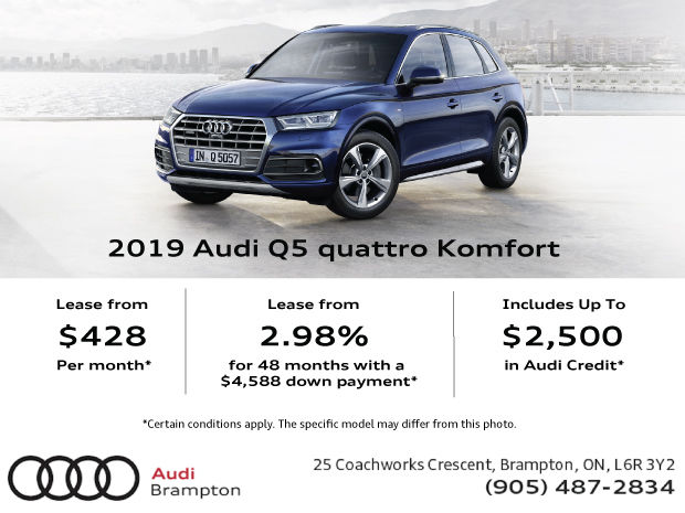 Drive the 2019 Q5 today!