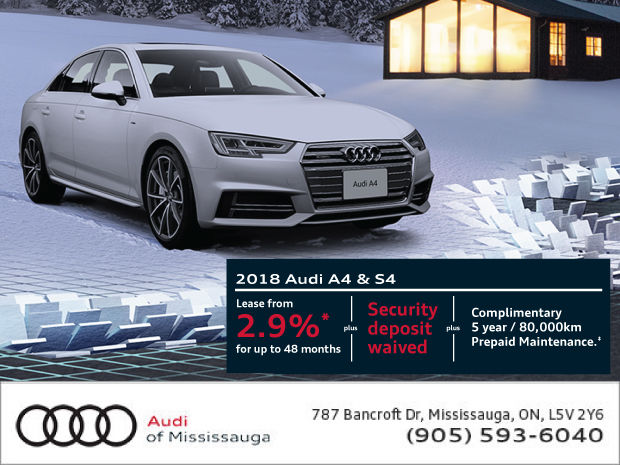 Audi AS Promotion Audi Of Mississauga - Audi a4 maintenance schedule