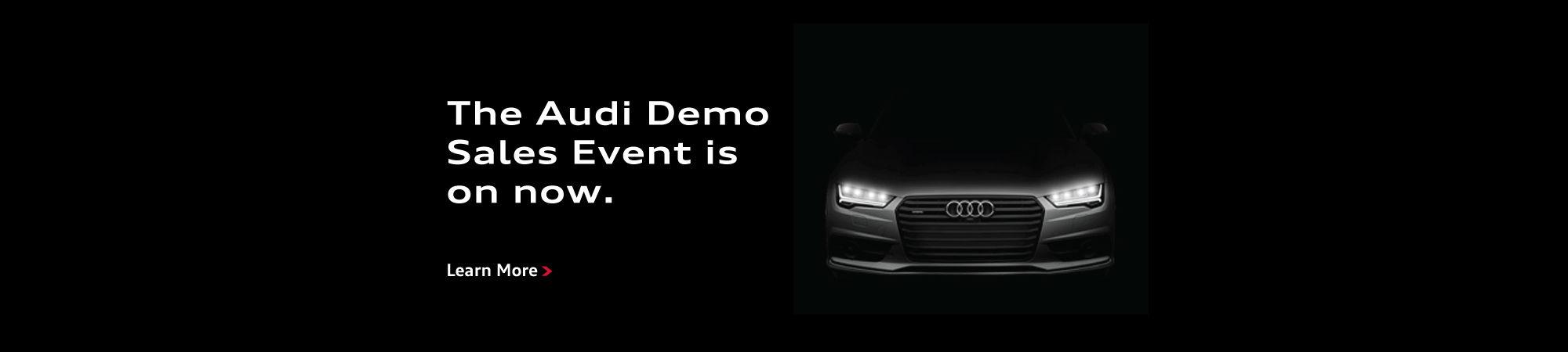 Audi Spring Demo Sales Event Slider