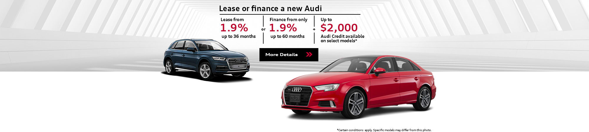 Spring Into Audi Sales Event - May -