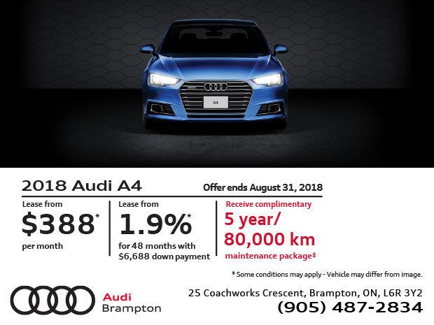Audi A Summer Of Audi Sales Event Audi Brampton - Audi a4 maintenance schedule