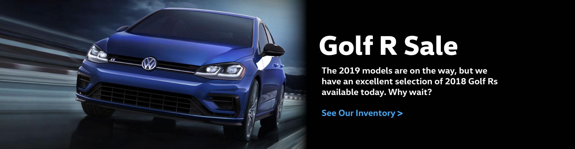 2018 Golf R Sale