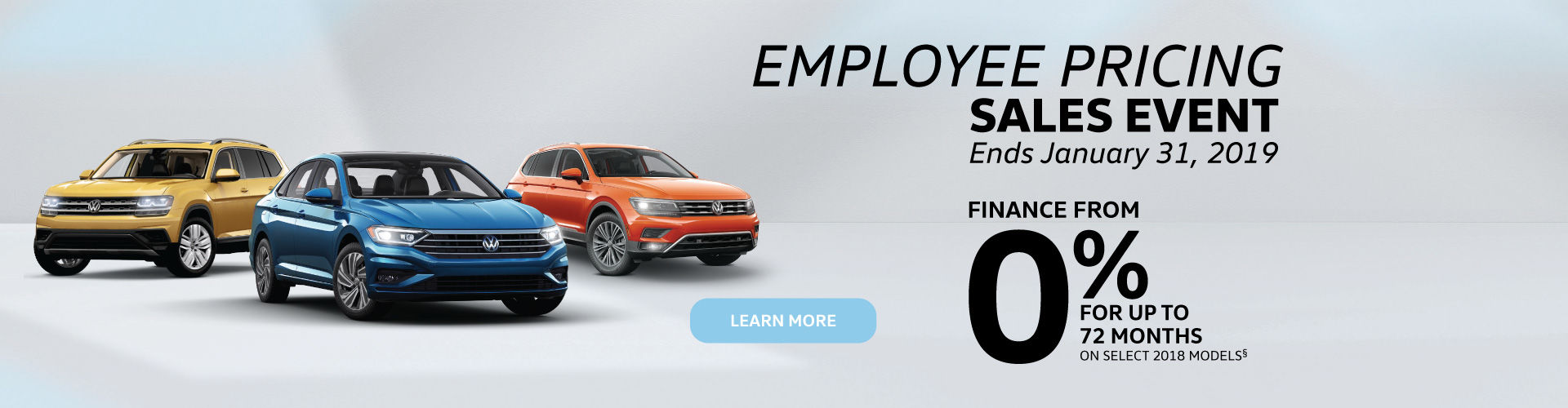 Employee Pricing Sales Event