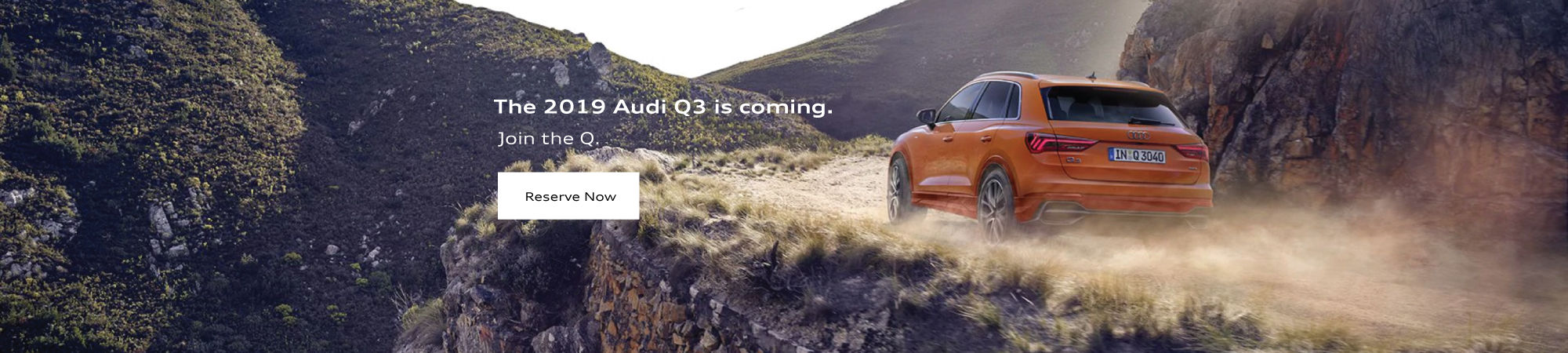Reserve Your 2019 Audi Q3 Desktop