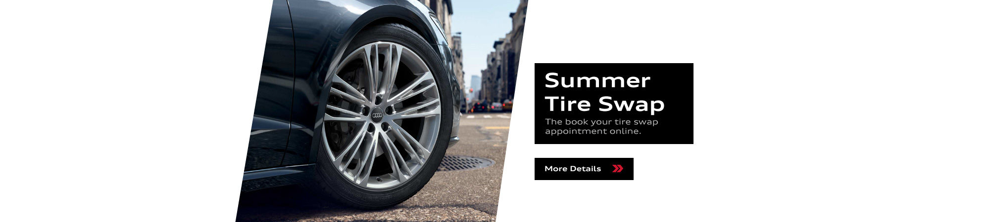 Book Your Summer Tire Swap Appointment Online