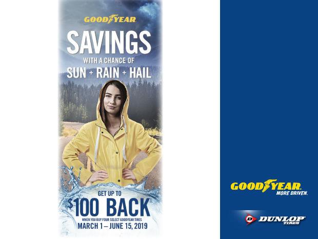 Goodyear/Dunlop Tires - Spring 2019 Rebate