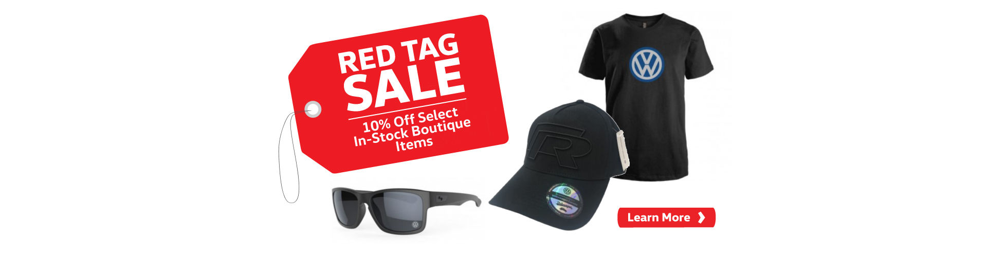 Red Tag Sale - Web Slider