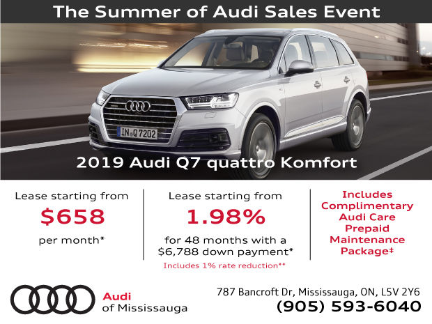 EXTENDED! Summer of Audi Sales Event | 2019 Audi Q7