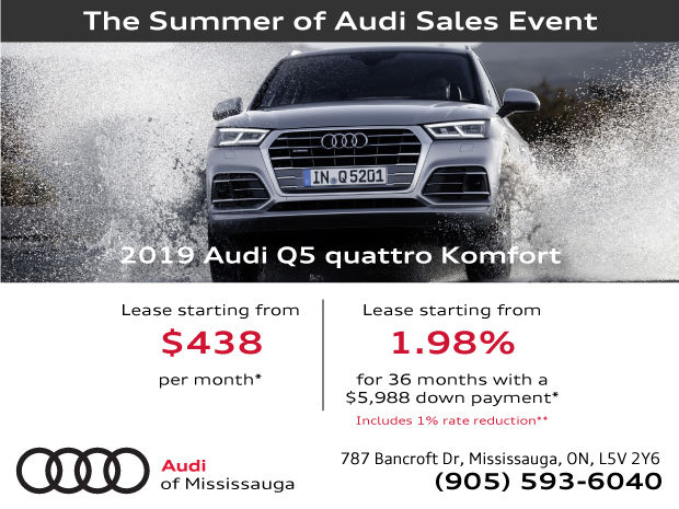 EXTENDED! Summer of Audi Sales Event | 2019 Audi Q5