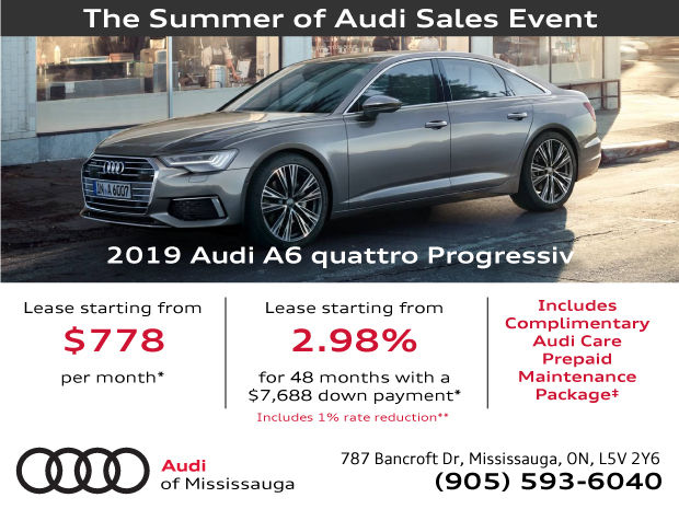 Summer of Audi Sales Event | 2019 Audi A6