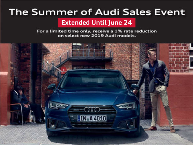 EXTENDED! Summer of Audi Sales Event