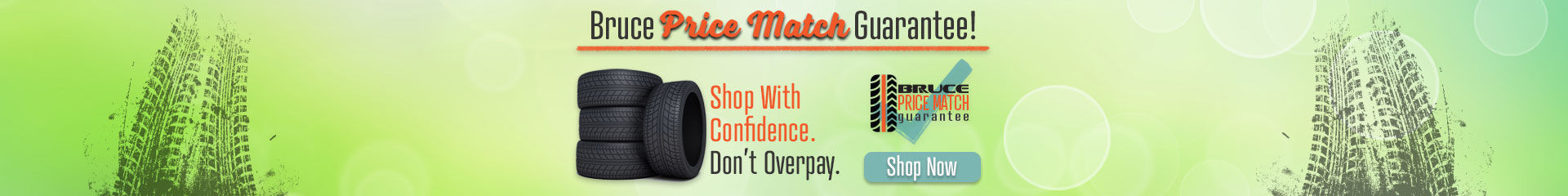 Bruce Tire Price Match Guarantee