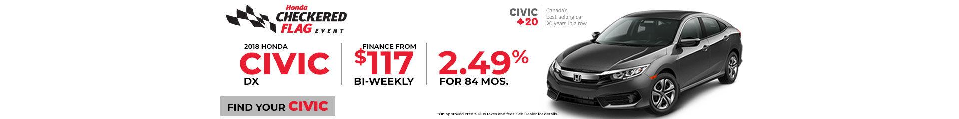 Civic LX Finance