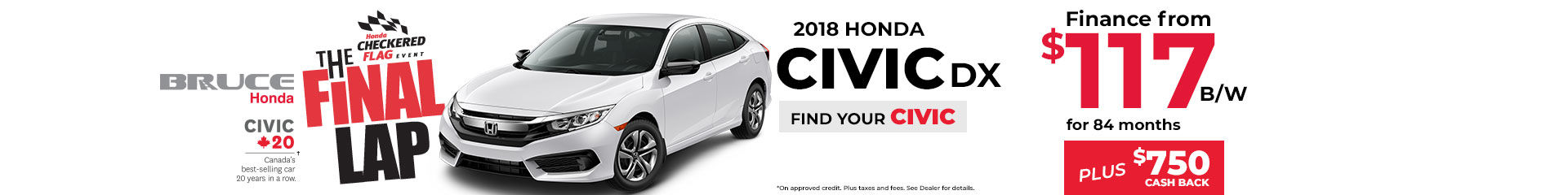 2018-07 Civic DX Finance