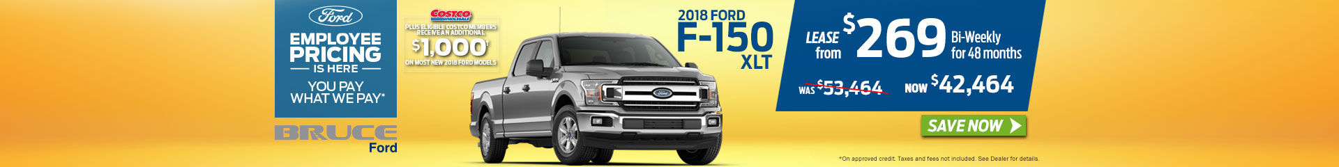 2018-07 F-150 XLT Lease