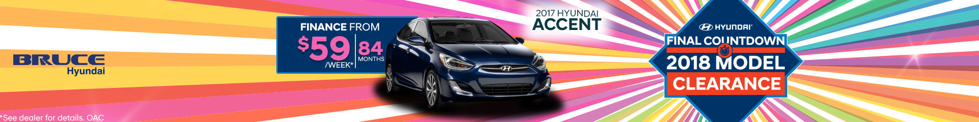Finance the 2017 Accent