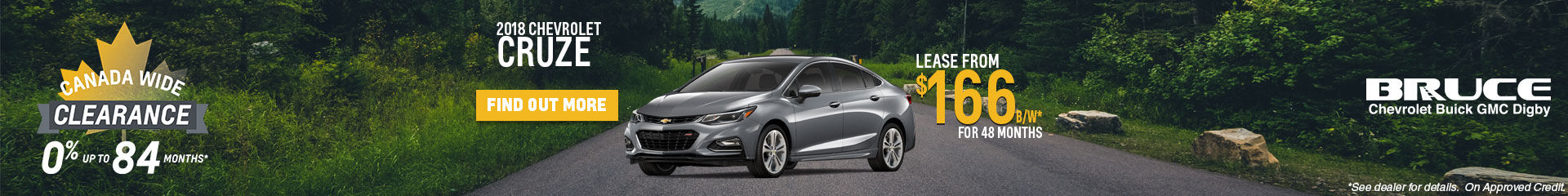 Lease the 2018 Cruze
