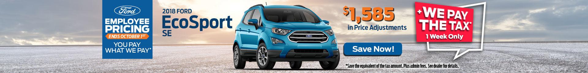 2018-09 Ford EcoSport