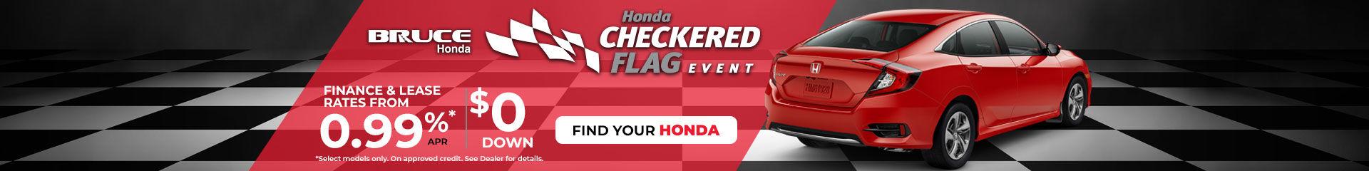 Checkered Flag Event