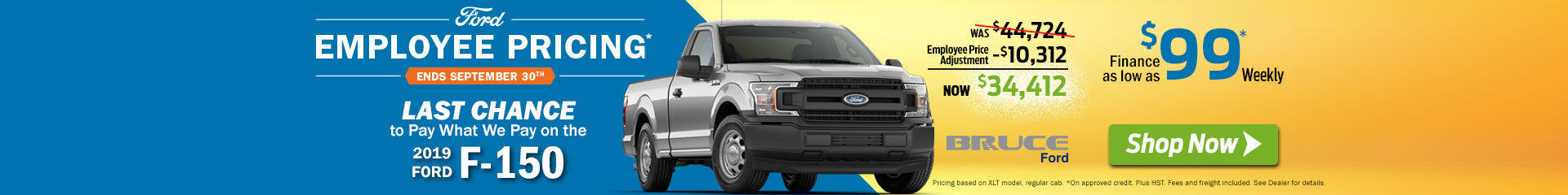 2019-09 Employee Pricing F-150