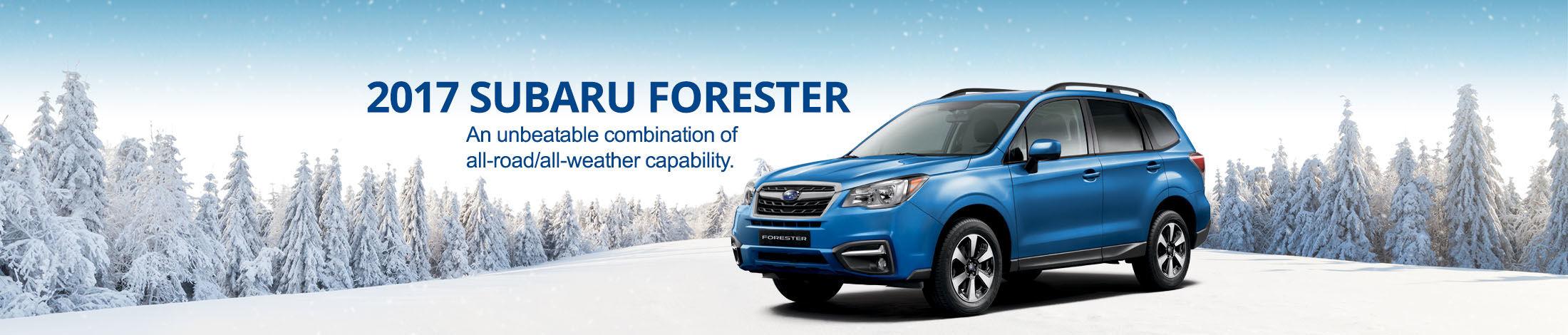 Header Subaru Forester 2017 Hiver