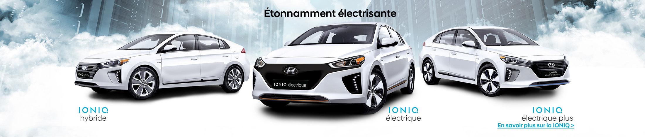 IONIQ hybrid-electrique-electrique plus